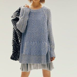 NEW Free People Morning View 2-Fer Sweater Dress
